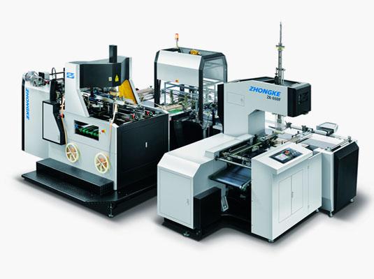 Автоматическая линия для производства жестких коробок ZHONGKE
